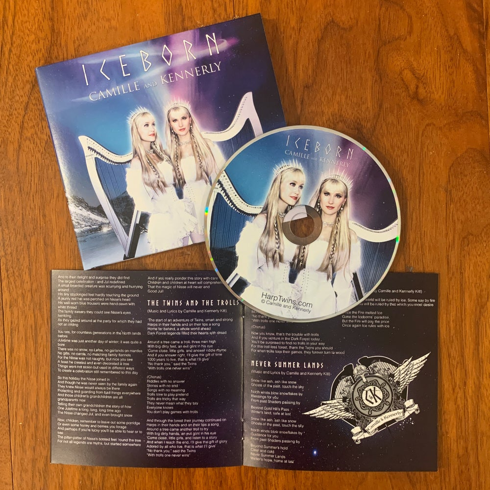 Image of Iceborn CD (AUTOGRAPHED) *Limited Time*