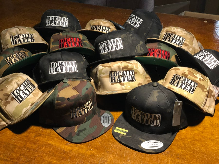 Image of Multicam badge SnapBack