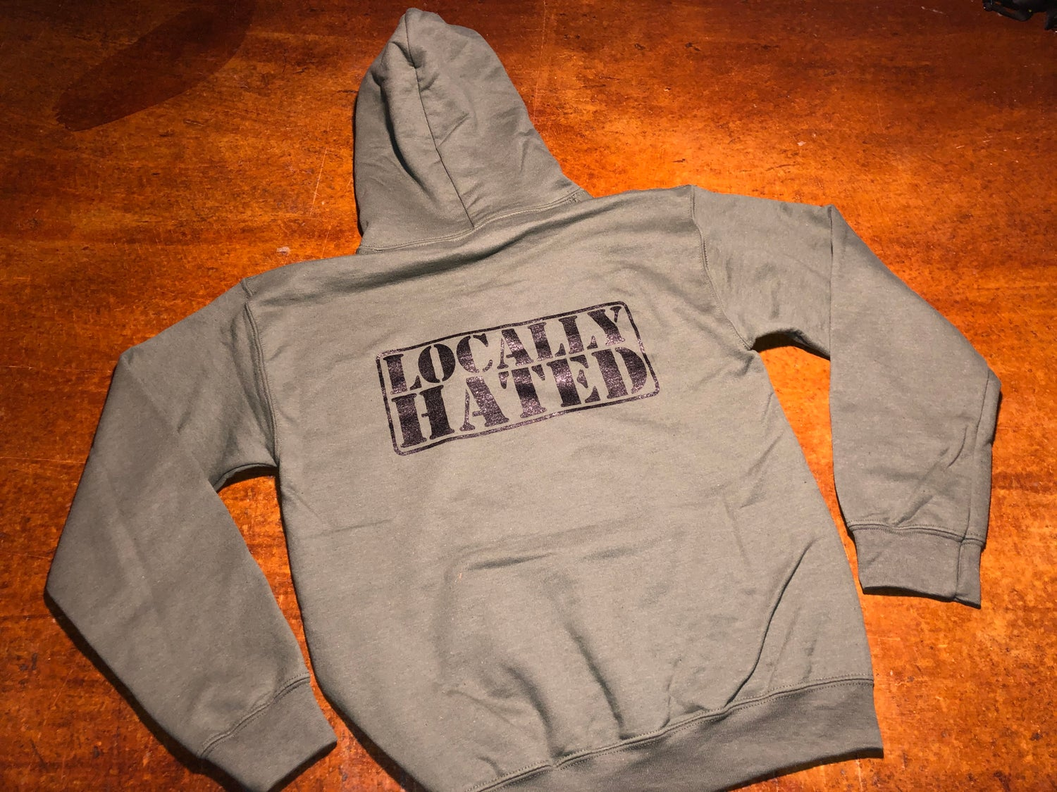 Image of Locally hated badge hoodie