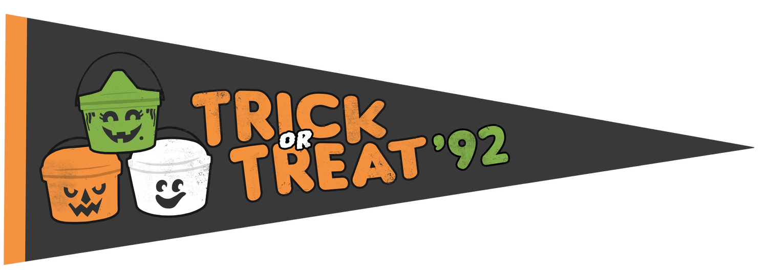 Image of Trick-or-Treat Pennant