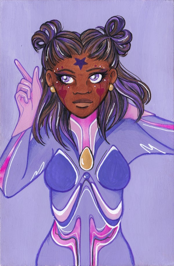 Image of Lavender: Plugsuit Magical Girl