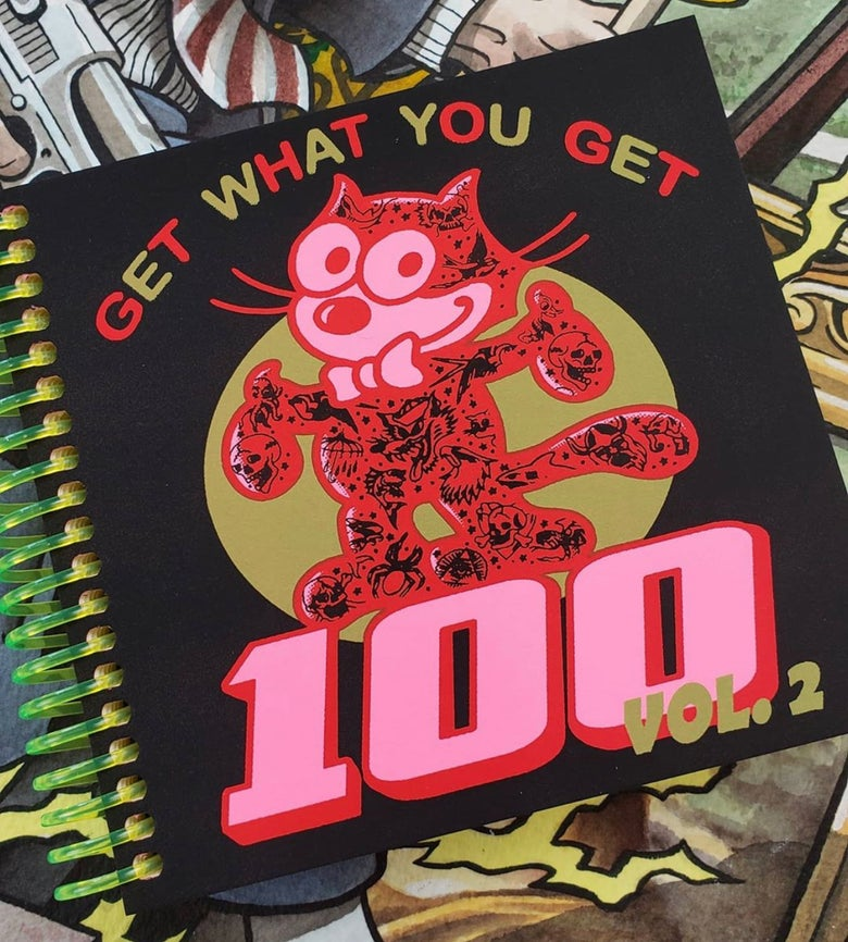 Image of NEW 100 Tattoo Book VOLUME 2