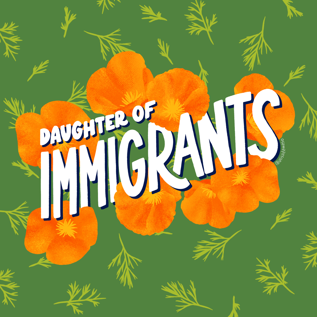 Image of Daughter of Immigrants Sticker