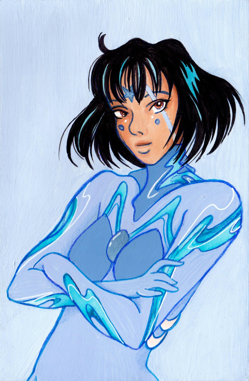 Image of Azul: Plugsuit Magical Girl