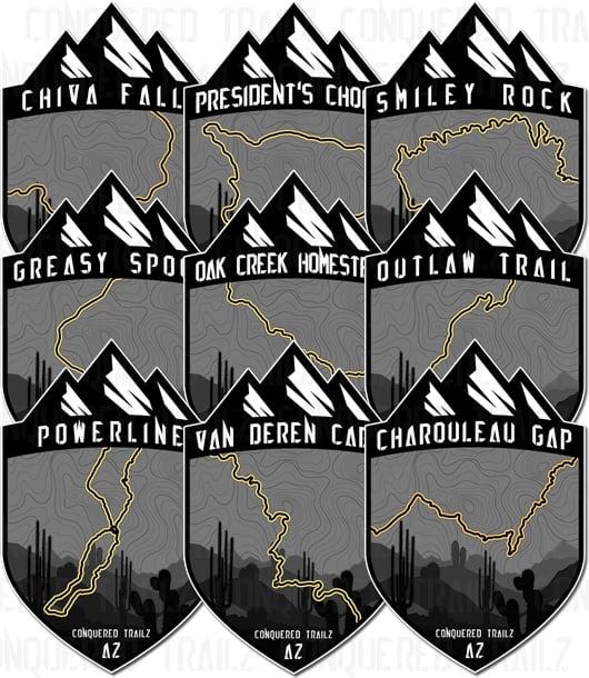 Image of Arizona Trail Badges