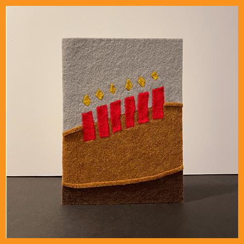 Image of FELT CAKE - 1