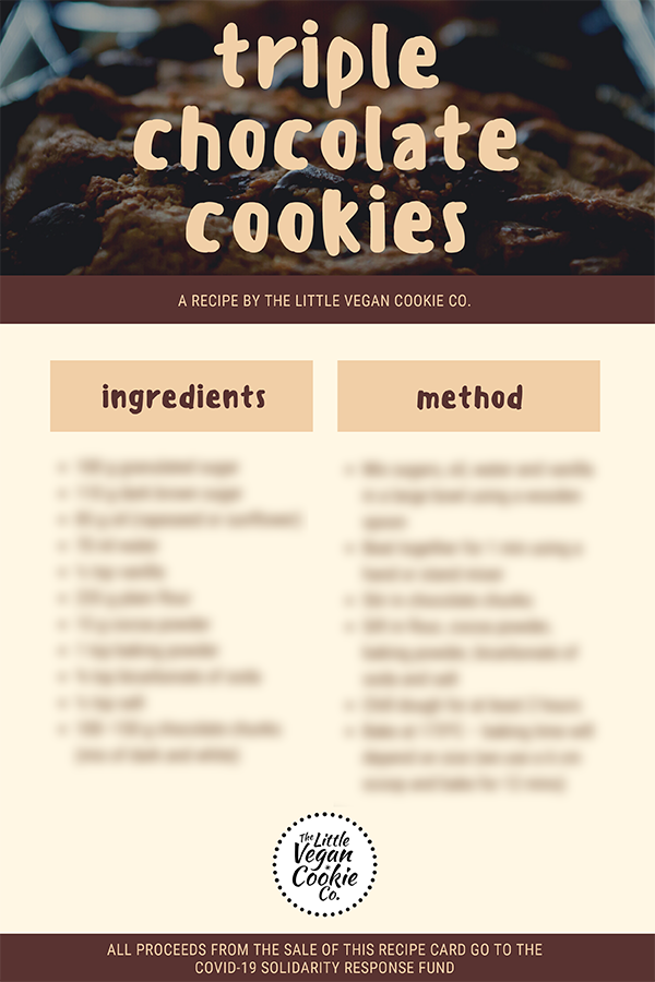 Image of Triple Chocolate Cookie Recipe