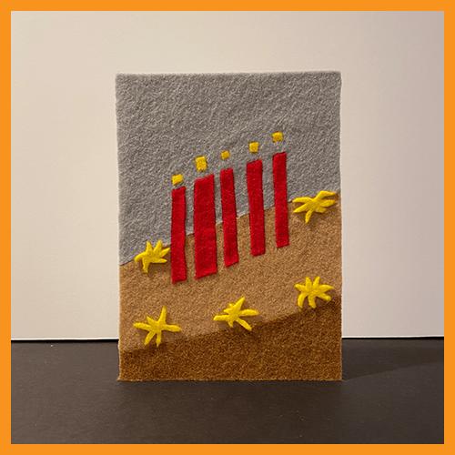 Image of FELT CAKE - 2