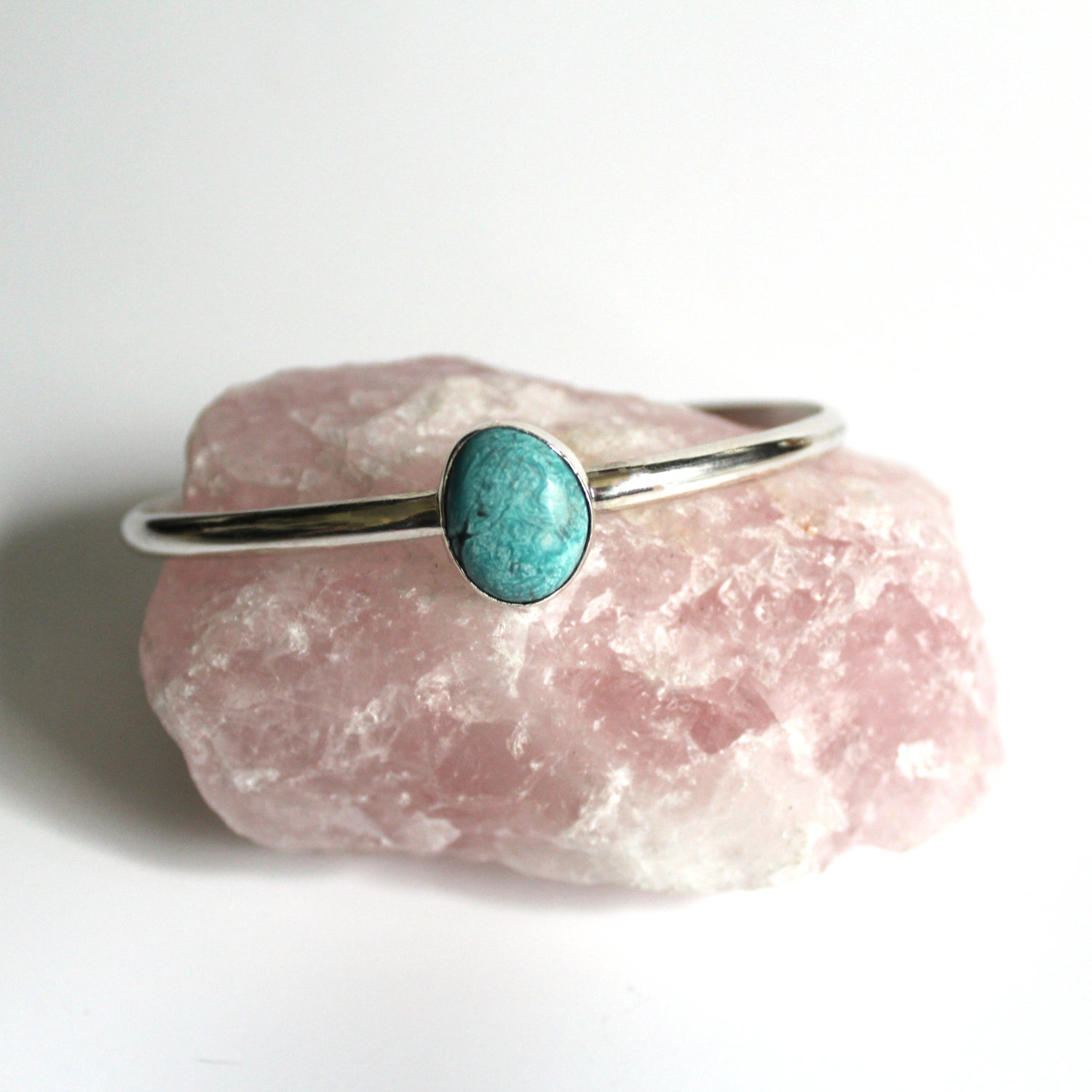 Image of Turquoise Sterling Silver Cuff