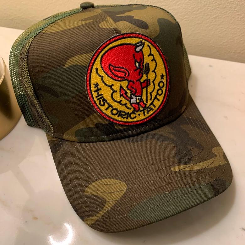 Image of HOT stuff - Camo Hat