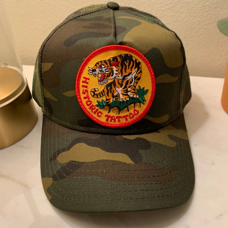 Image of TIGER - Camo Hat