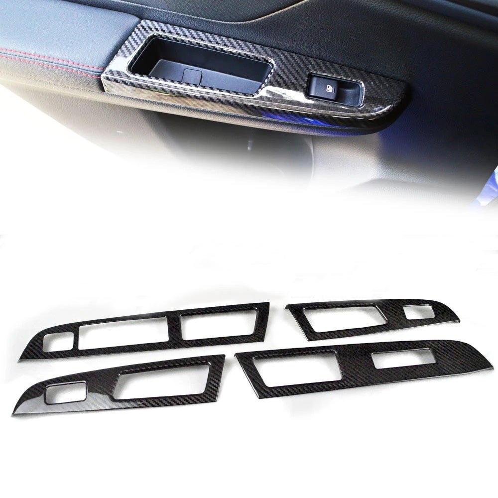 Image of Carbon Fiber Window Switch Covers