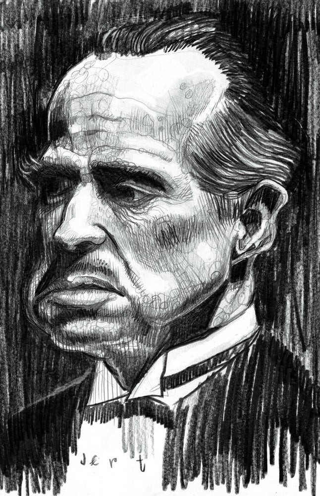 Image of ANY HUMAN FACE DRAWN (in pencil) BY JERT