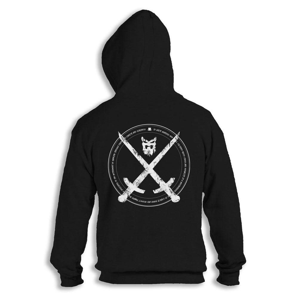 "Image of "" MISSION "" Zip Up Hoodie"