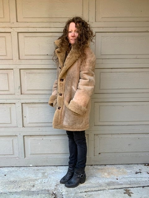 Image of Shearling/Leather Reversible!