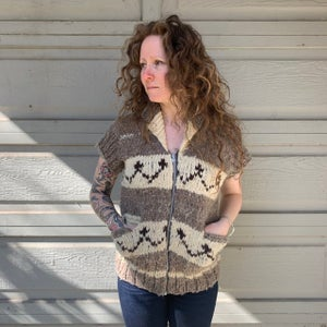 Image of Hand Knit Vest