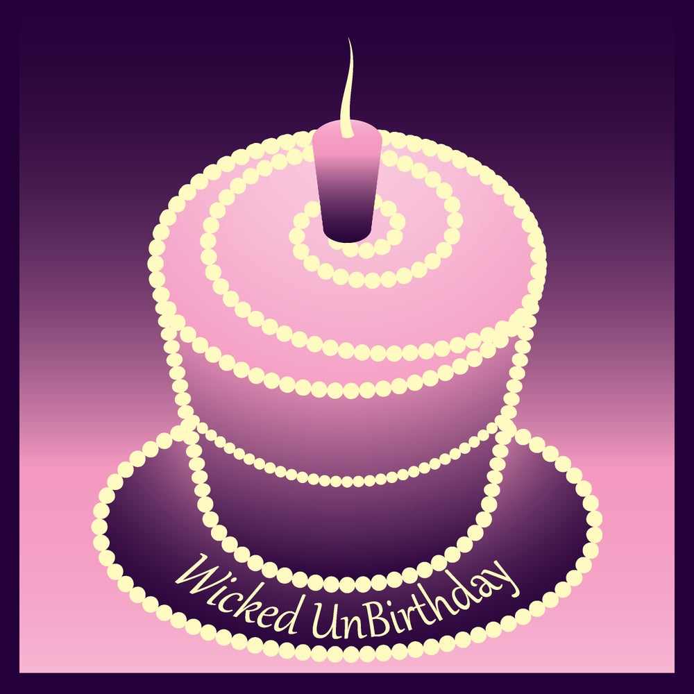 Image of Wicked Unbirthday Cake
