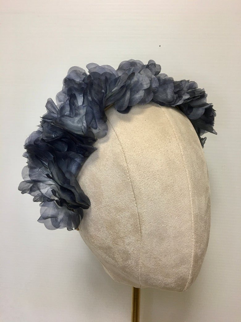 Image of Vintage silk organza headbands