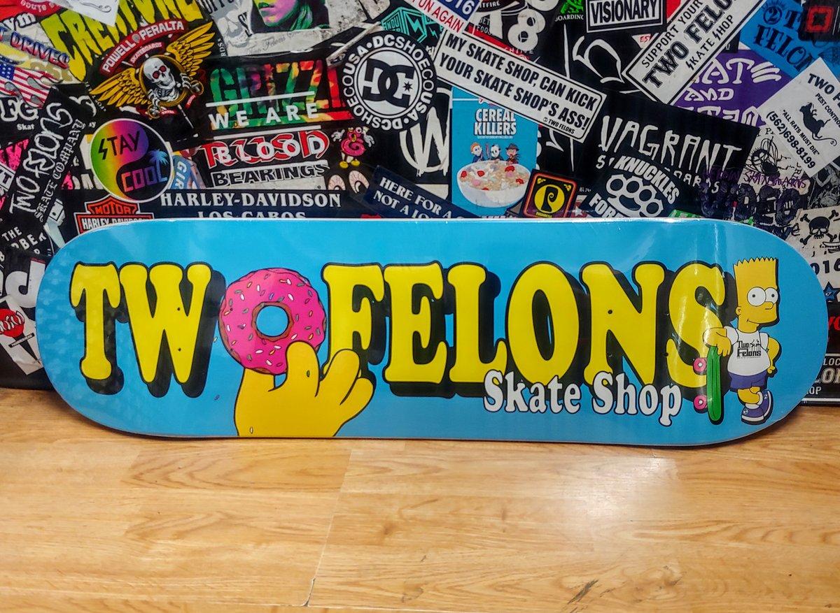"Two Felons ""Burt Sampson"" shop deck"