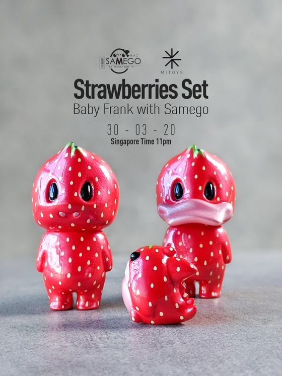 Image of Strawberries Set