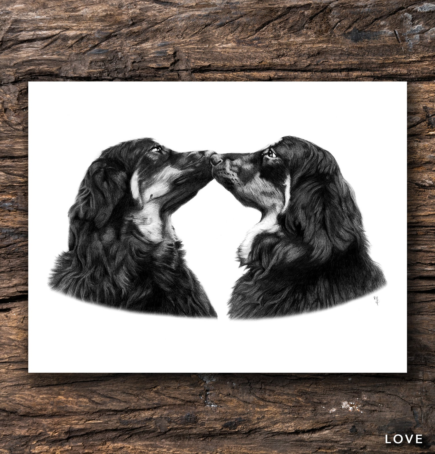 Image of Love Greeting Card