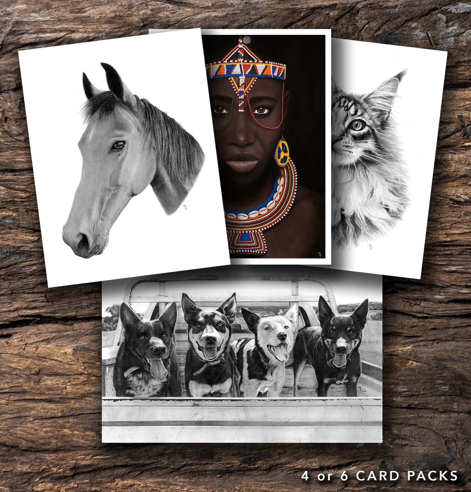 Image of Pack of Greeting Cards