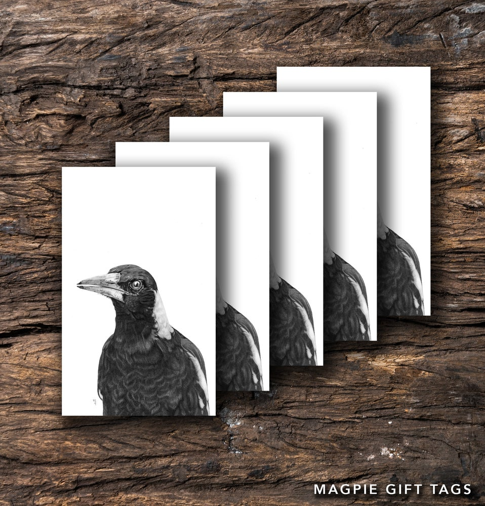 Image of Magpie Gift Tag Packs