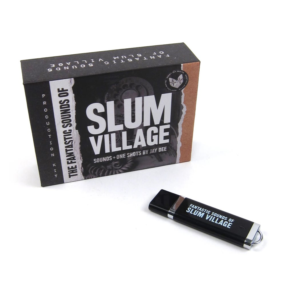 Image of J Dilla-  Fantastic Sounds Of Slum Village Producer Kit - USB-Drive (NATURE SOUNDS)
