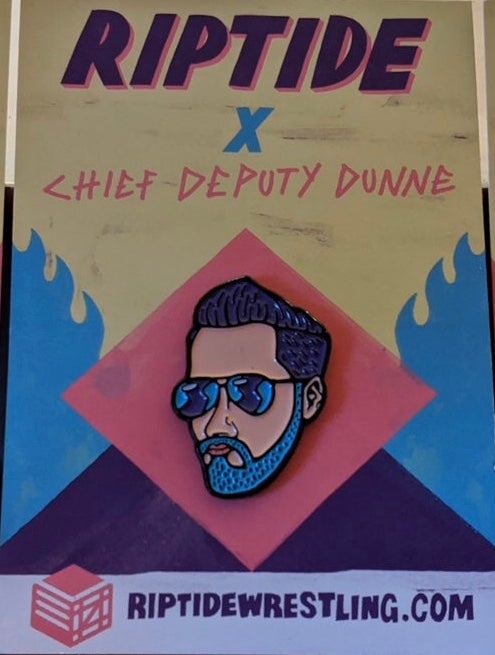 Image of Chief Deputy Dunne Pin Badge
