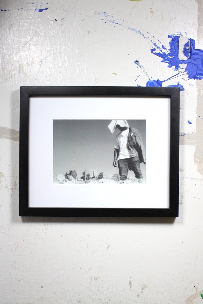 "Image of ""stand up"" 9in x 11in framed photo by @holidaylens"