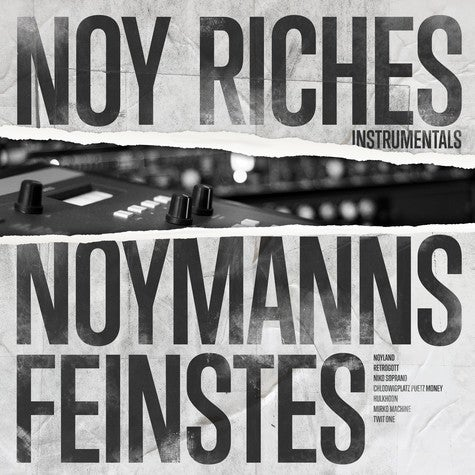 Image of Noy Riches - Noymanns Feinstes (Instrumentals) - LP (ENTBS)