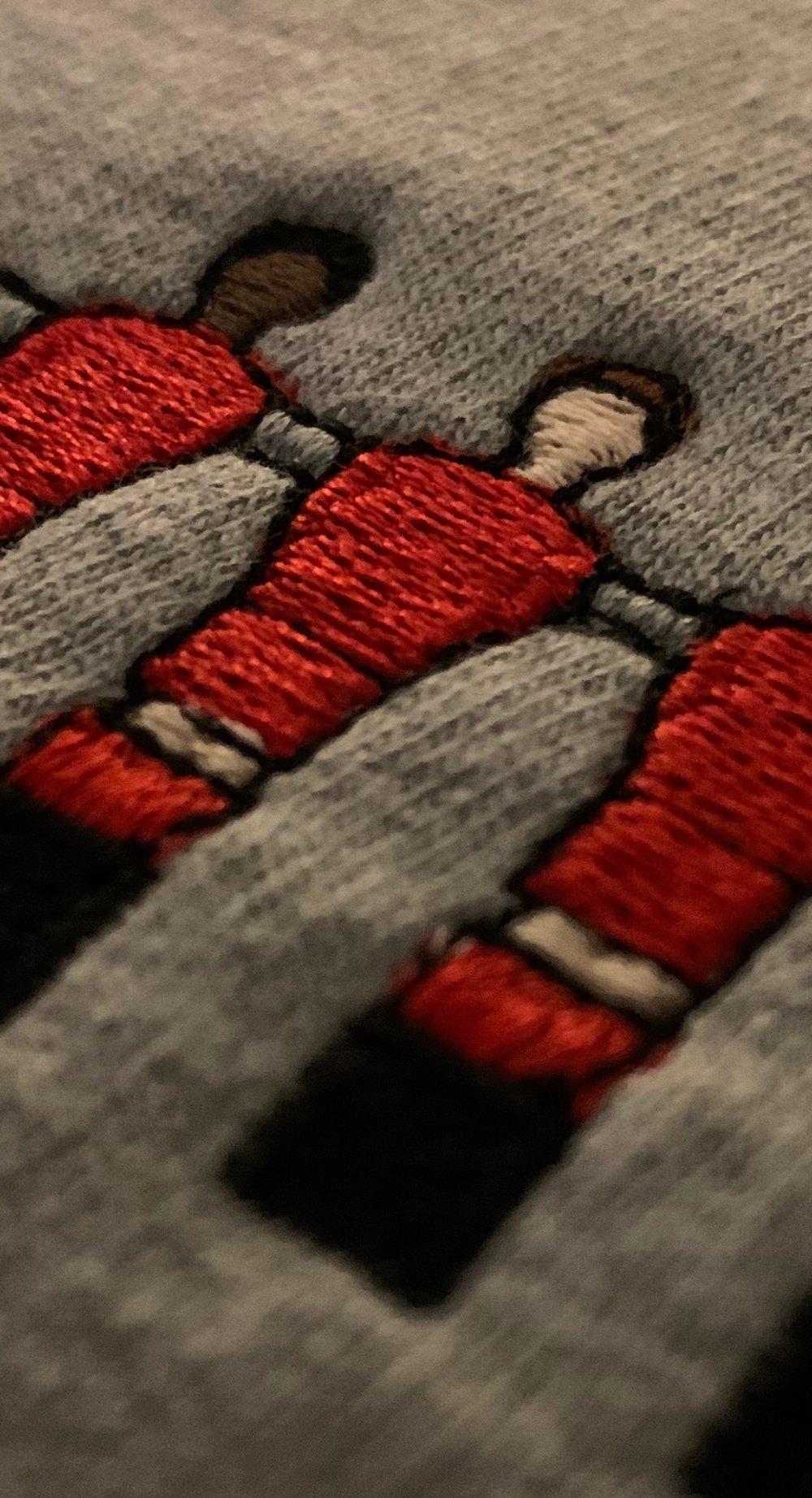 Embroidered Club Range - Liverpool