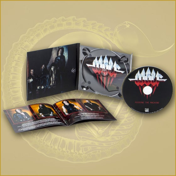 Image of FEEDING THE MACHINE - Digipack - SIGNED