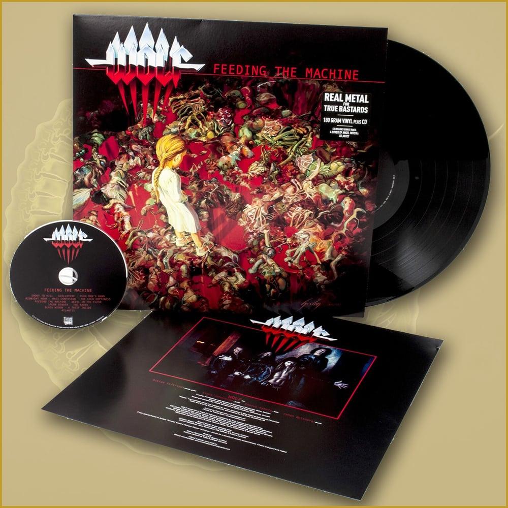 Image of FEEDING THE MACHINE - Vinyl - SIGNED
