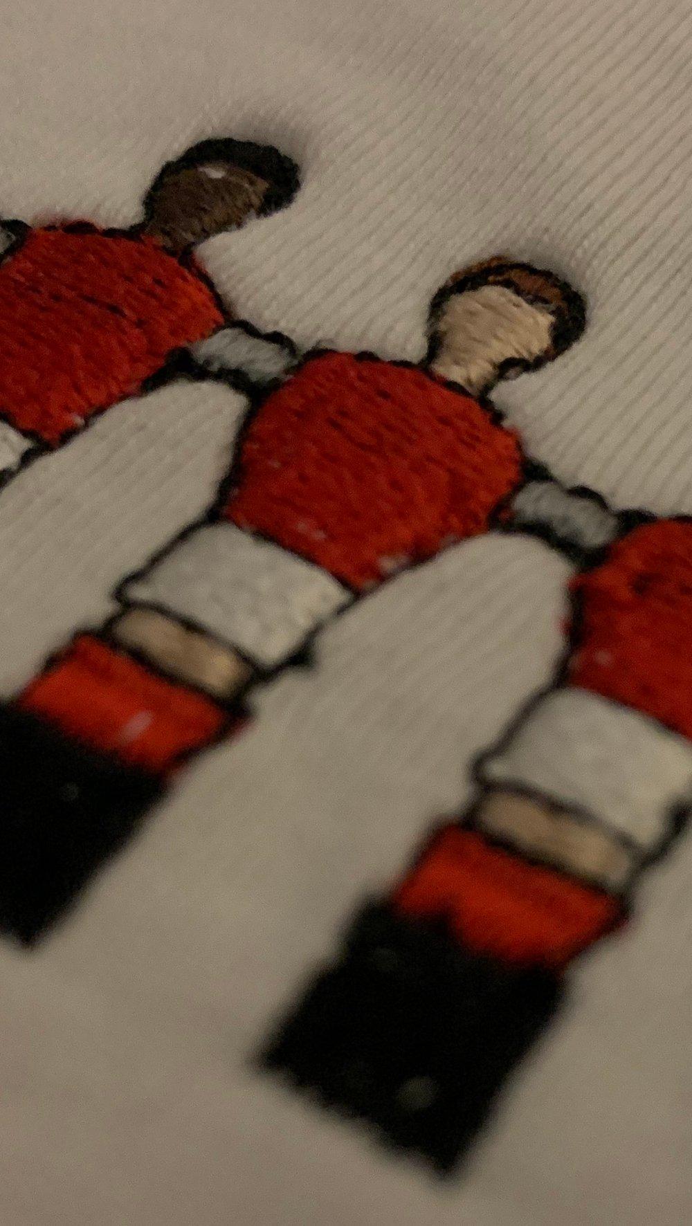 Embroidered Club Range - Nottingham