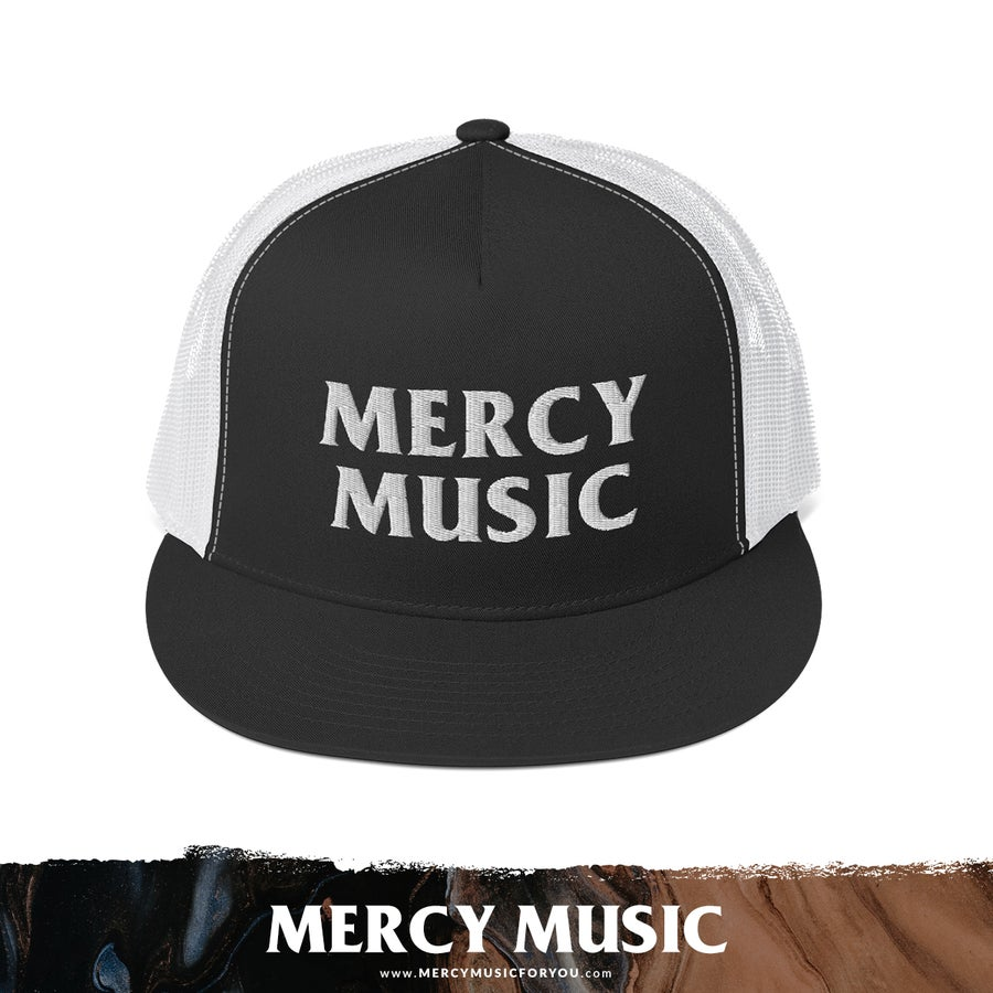 Image of Mercy Music Flatbill Trucker