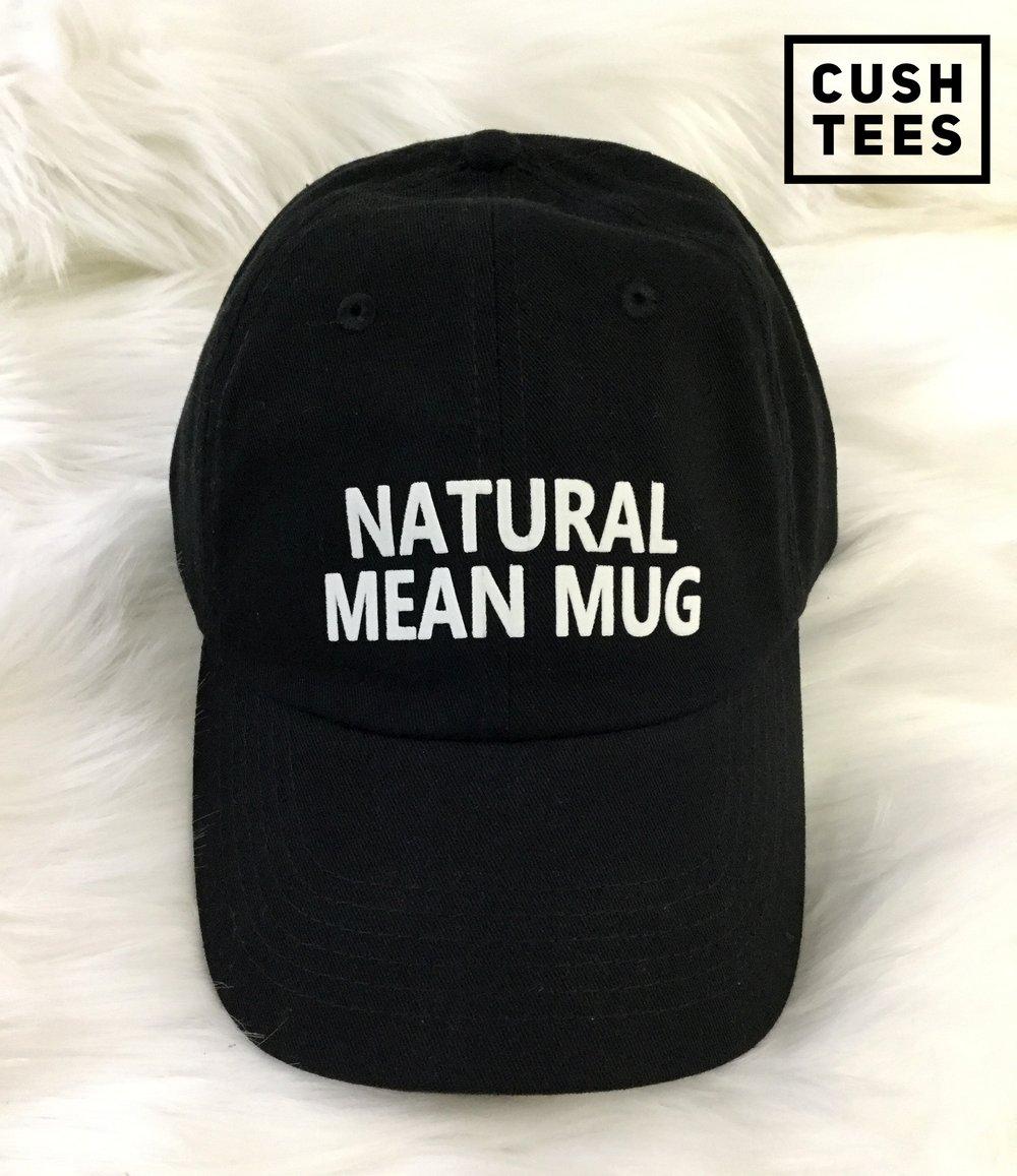 Natural mean mug (Dad Hat)