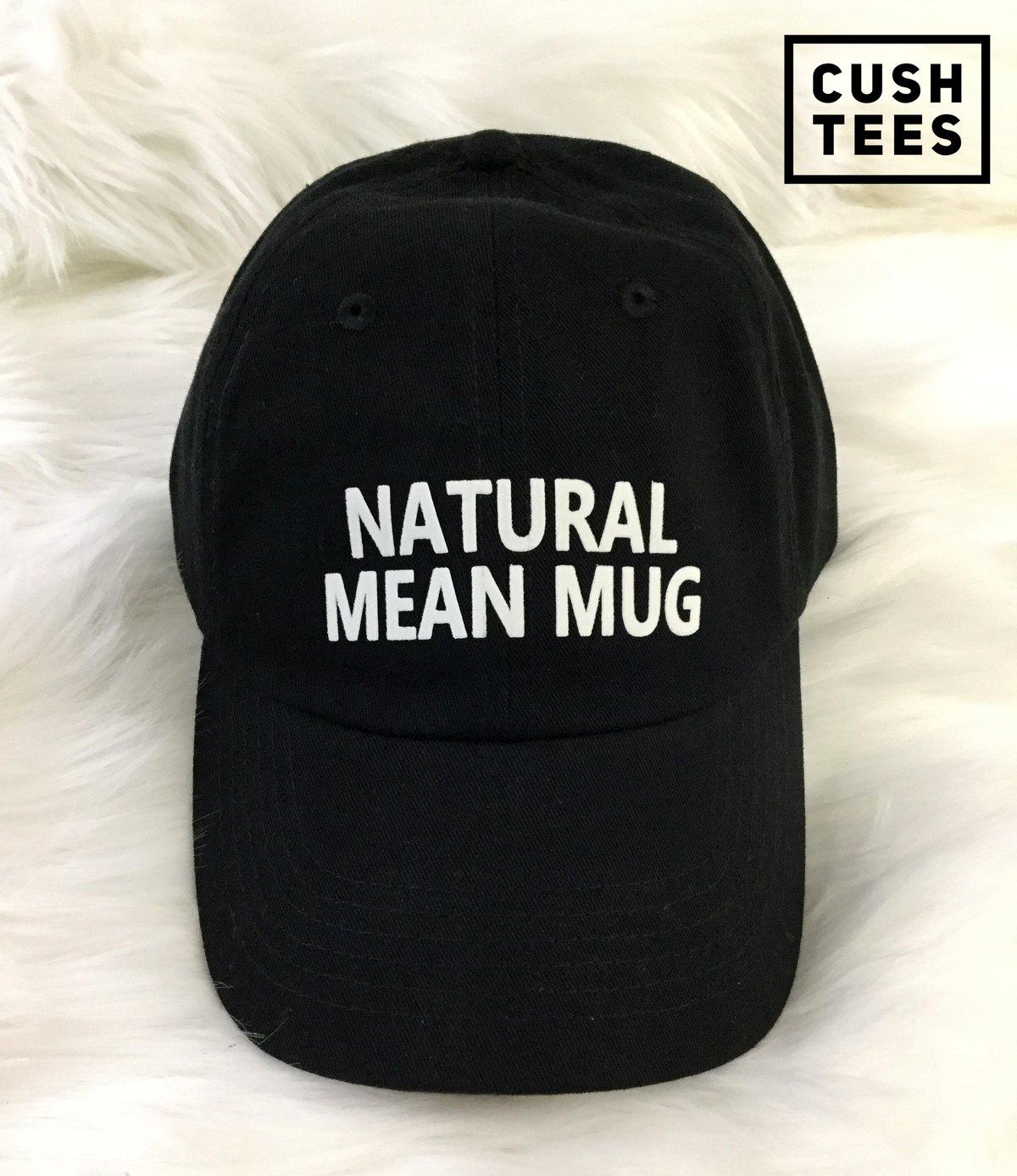 Image of Natural mean mug (Dad Hat)