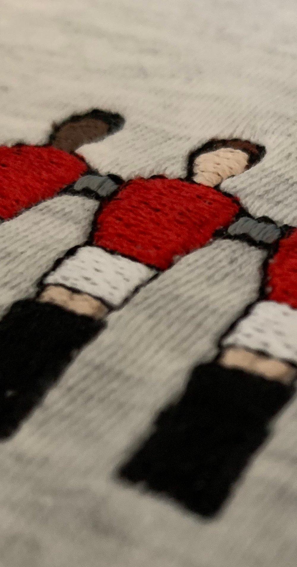Embroidered Club Range - Man Utd