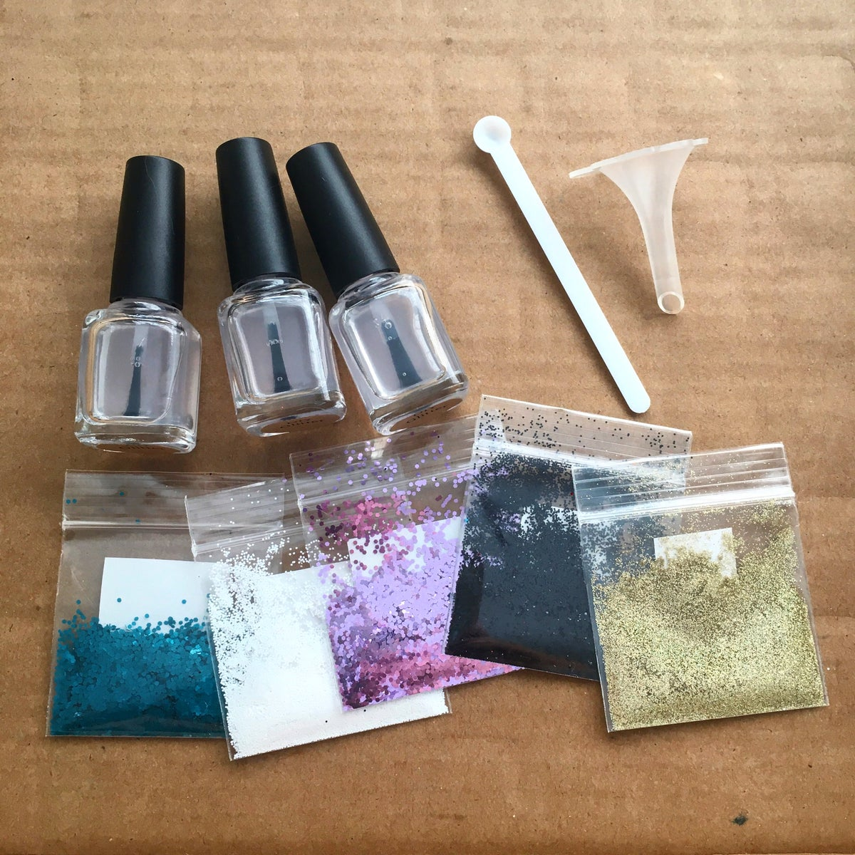 DIY Glitter Polish Making Kit