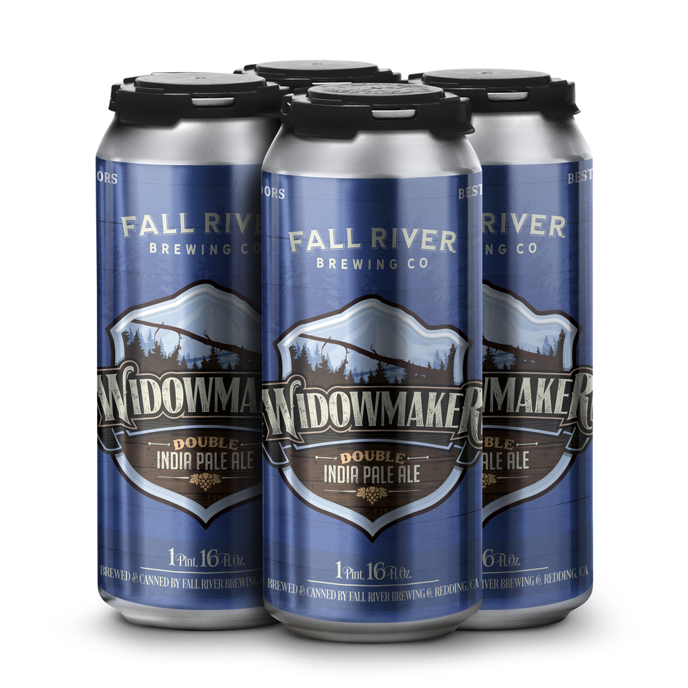 Image of Widowmaker Double IPA - Case of 24, 16oz cans