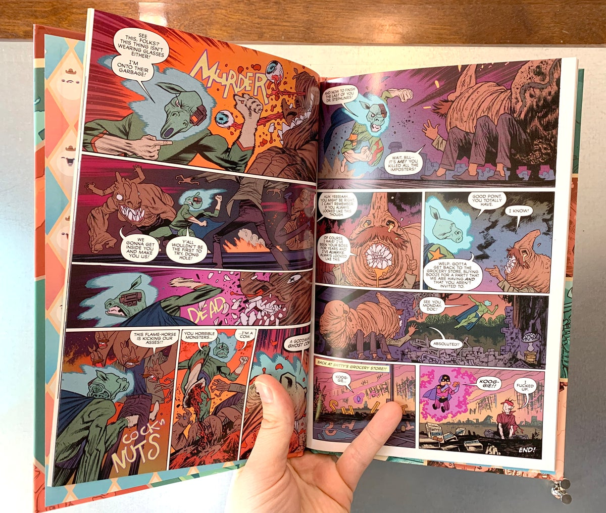 GOD HATES ASTRONAUTS presents: 3-D Cowboy's 2-D Spectacular Hardcover