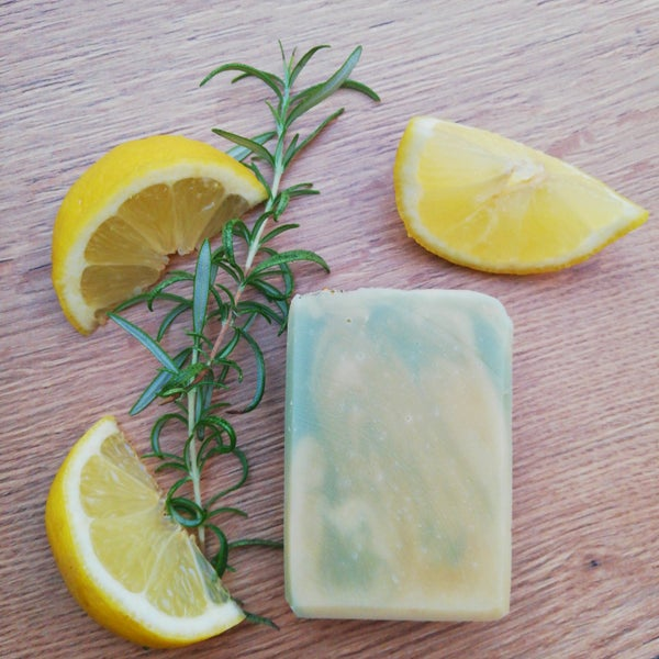 Image of Lemon + Rosemary Soap