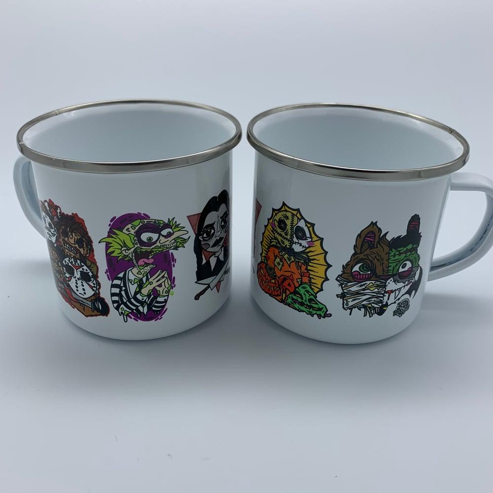 Image of Monsters Camp Mug 10oz