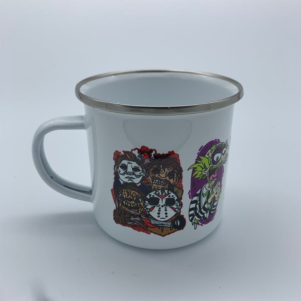 Monsters Camp Mug 10oz