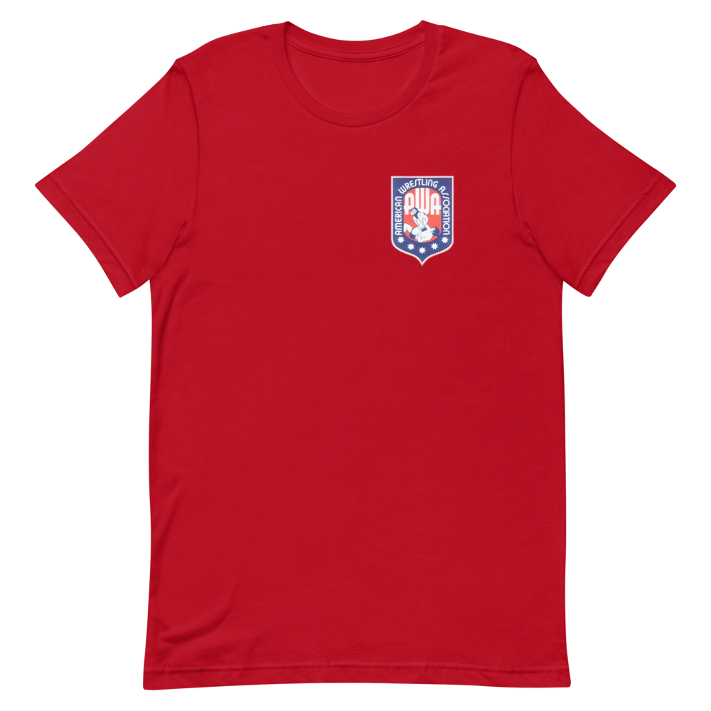 Image of AWA Southern Tee (Asphalt, Blk Heather, Red, Royal Heather & Gold (Small—XXXXL)