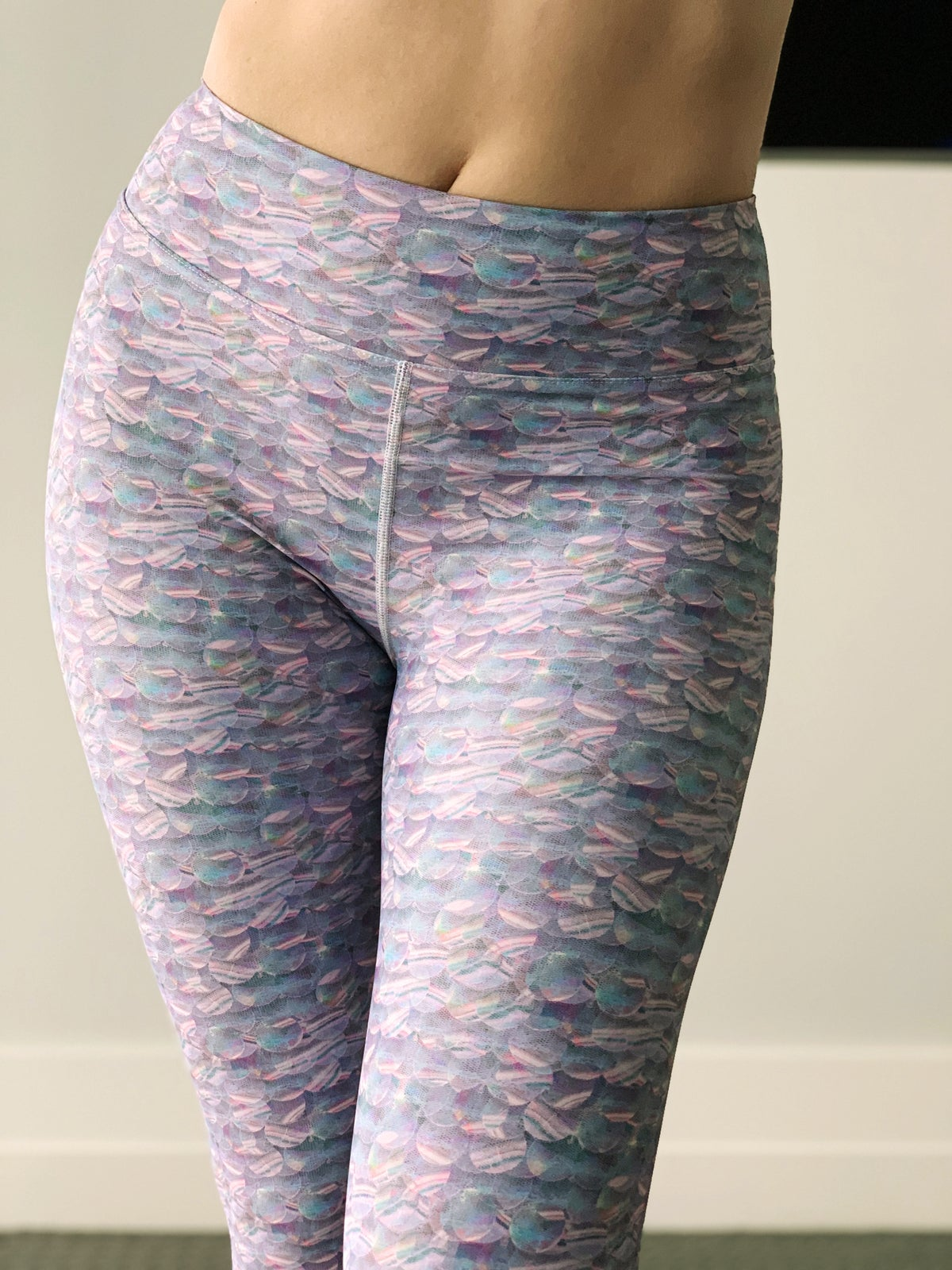 Image of Mermaid Sequin Yoga Pants