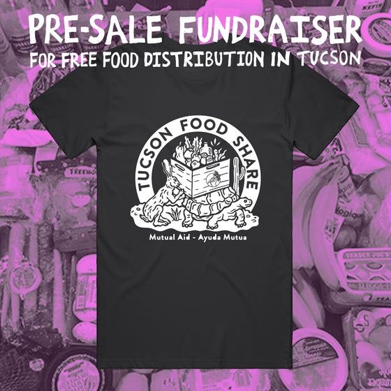 "Image of ""Tucson Food Share"" - Black Tee"