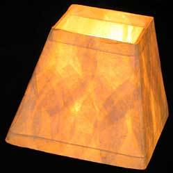 Image of Square Paper Lampshades