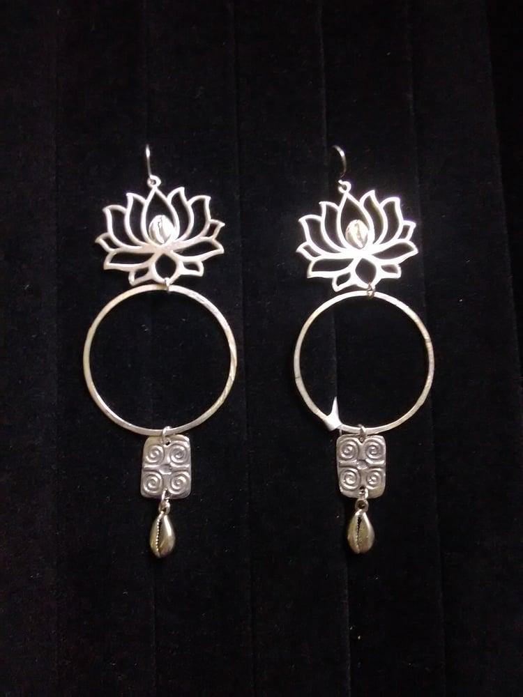 Image of Stirling Silver Handmade Ear-Rings